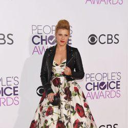 Jodie Sweetin en la alfombra roja de los People's Choice Awards 2017
