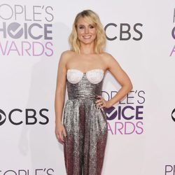 Kristen Bell en la alfombra roja de los People's Choice Awards 2017