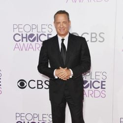 Tom Hanks en la alfombra roja de los People's Choice Awards 2017