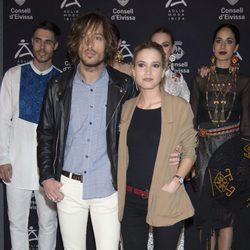 Ana Fernández y Adrián Roma en la fiesta AdLib de Ibiza con motivo de FITUR