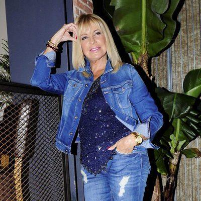 Bárbara Rey en la presentación del libro 'El amor de mi vida'