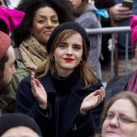 Emma Watson en la Marcha de las Mujeres en Washington