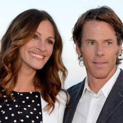 Julia Roberts con su marido Daniel Moder