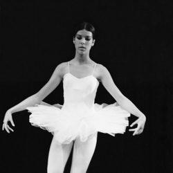 Carolina de Mónaco haciendo ballet