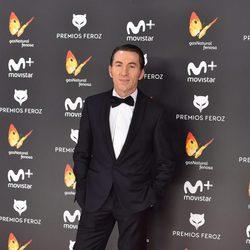 Antonio de la Torre en la alfombra roja de los Premios Feroz 2017