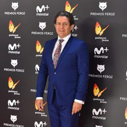 Pedro Casablanc en la alfombra roja de los Premios Feroz 2017