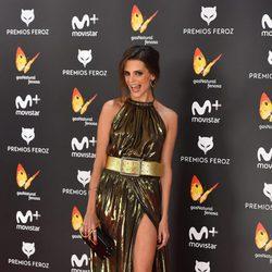 Macarena Gómez en la alfombra roja de los Premios Feroz 2017
