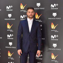 Luis Fernández en la alfombra roja de los Premios Feroz 2017