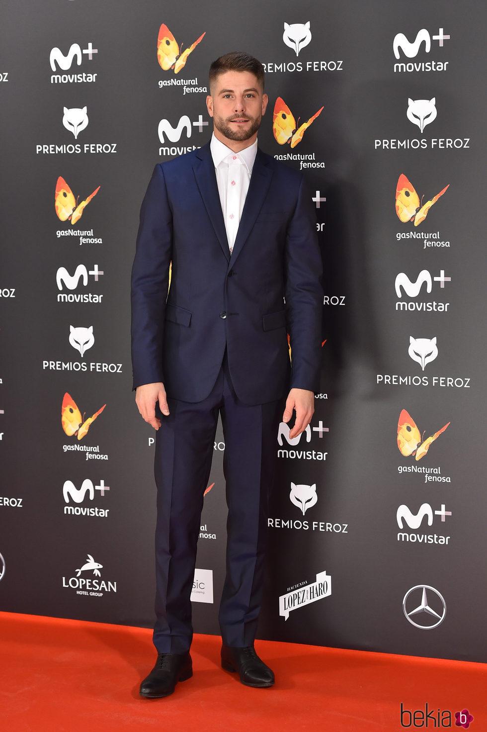 Luis fern ndez en la alfombra roja de los premios feroz - Alfombras los fernandez ...