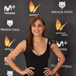 Toni Acosta en la alfombra roja de los Premios Feroz 2017