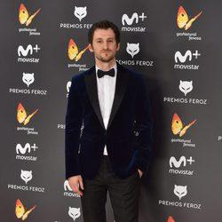 Raúl Arévalo en la alfombra roja de los Premios Feroz 2017