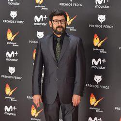 Manolo Solo en la alfombra roja de los Premios Feroz 2017