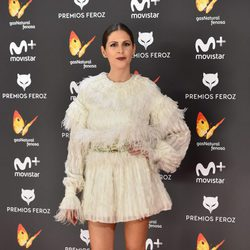 Bárbara Santa-Cruz en la alfombra roja de los Premios Feroz 2017
