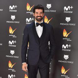 Miguel Ángel Muñoz en la alfombra roja de los Premios Feroz 2017