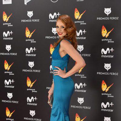 Cristina Castaño en la alfombra roja de los Premios Feroz 2017