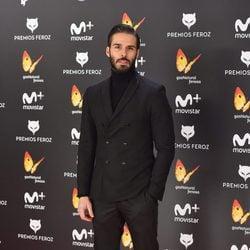 Álex Barahona en la alfombra roja de los Premios Feroz 2017
