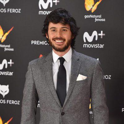 Javier Pereira en la alfombra roja de los Premios Feroz 2017