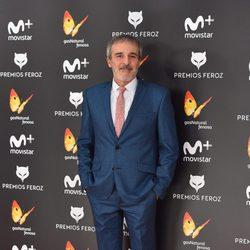 Fernando Guillén-Cuervo en la alfombra roja de los Premios Feroz 2017