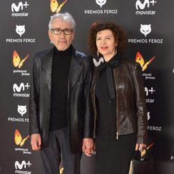 José Sacristán en la alfombra roja de los Premios Feroz 2017