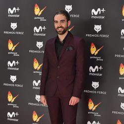 John Plazaola en la alfombra roja de los Premios Feroz 2017