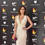 Natalia de Molina en la alfombra roja de los Premios Feroz 2017