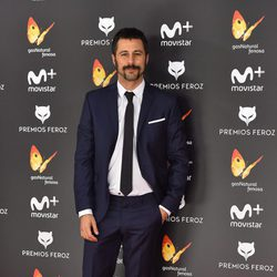 Hugo Silva en la alfombra roja de los Premios Feroz 2017