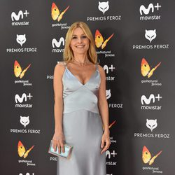 Cayetana Guillén Cuervo en la alfombra roja de los Premios Feroz 2017