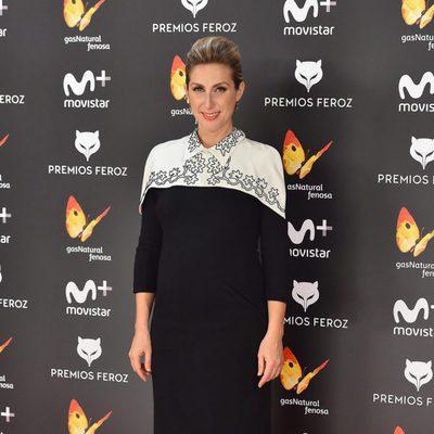 Cecilia Freire en la alfombra roja de los Premios Feroz 2017