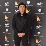 Roberto Álamo en la alfombra roja de los Premios Feroz 2017