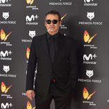 Eduard Fernández en la alfombra roja de los Premios Feroz 2017