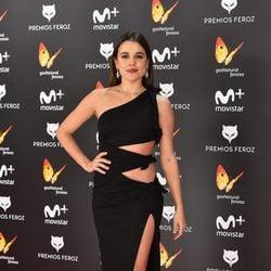 Adriana Ugarte en la alfombra roja de los Premios Feroz 2017