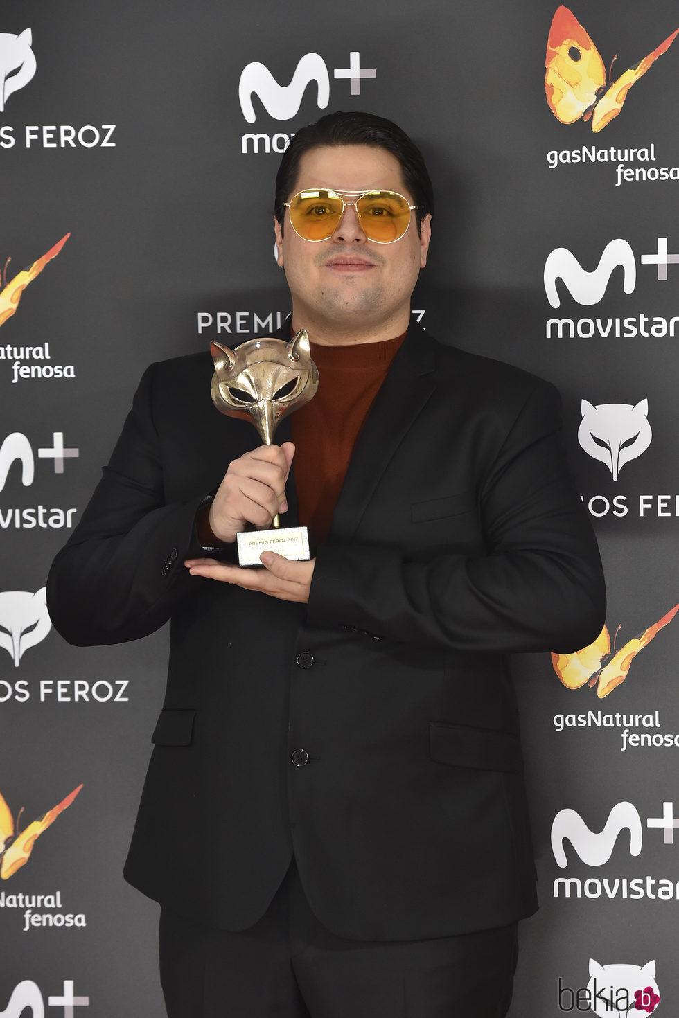 Brays Efe con su 'Feroz' 2017