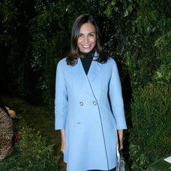Inés Sastre en el desfile de Dior primavera/verano 2017 en la Semana de la Alta Costura de París