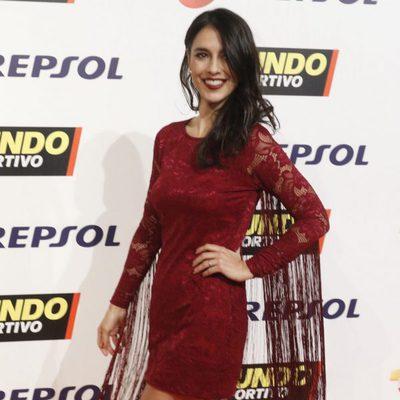Cristina Brondo en la Gala Mundo Deportivo 2017
