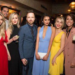 Nina Dobrev con los invitados de su cumpleaños temático inspirado en 'La La Land'