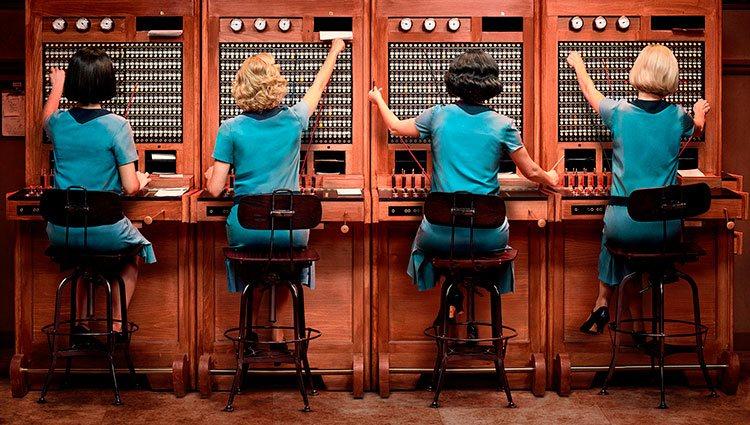 Primera imagen oficial de 'Las chicas del cable', la serie española de Netflix