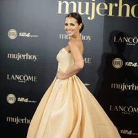 Paula Echevarría luciendo su vestido de princesa en los Premios Mujer Hoy 2017