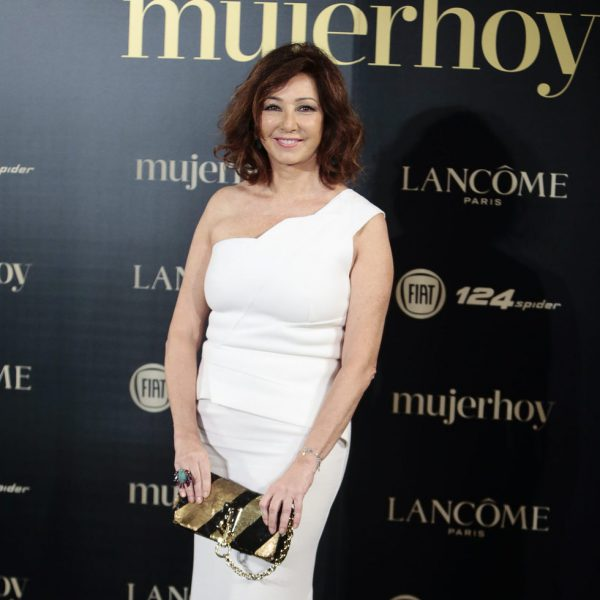 Famosas paseando por la alfombra roja de los Premios Mujer Hoy 2017