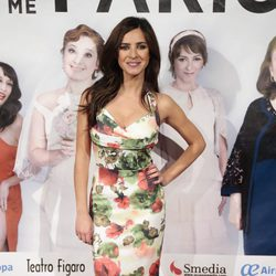 Paula Prendes en el estreno de la obra de teatro 'La madre que me parió'