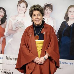 Paloma Gómez Borrero en el estreno de la obra de teatro 'La madre que me parió'