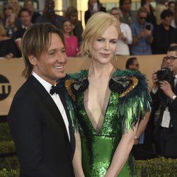 Nicole Kidman y Keith Urban en los SAG Awards 2017