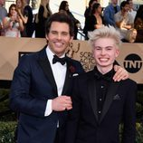 James y Jack Marsden en los SAG Awards 2017