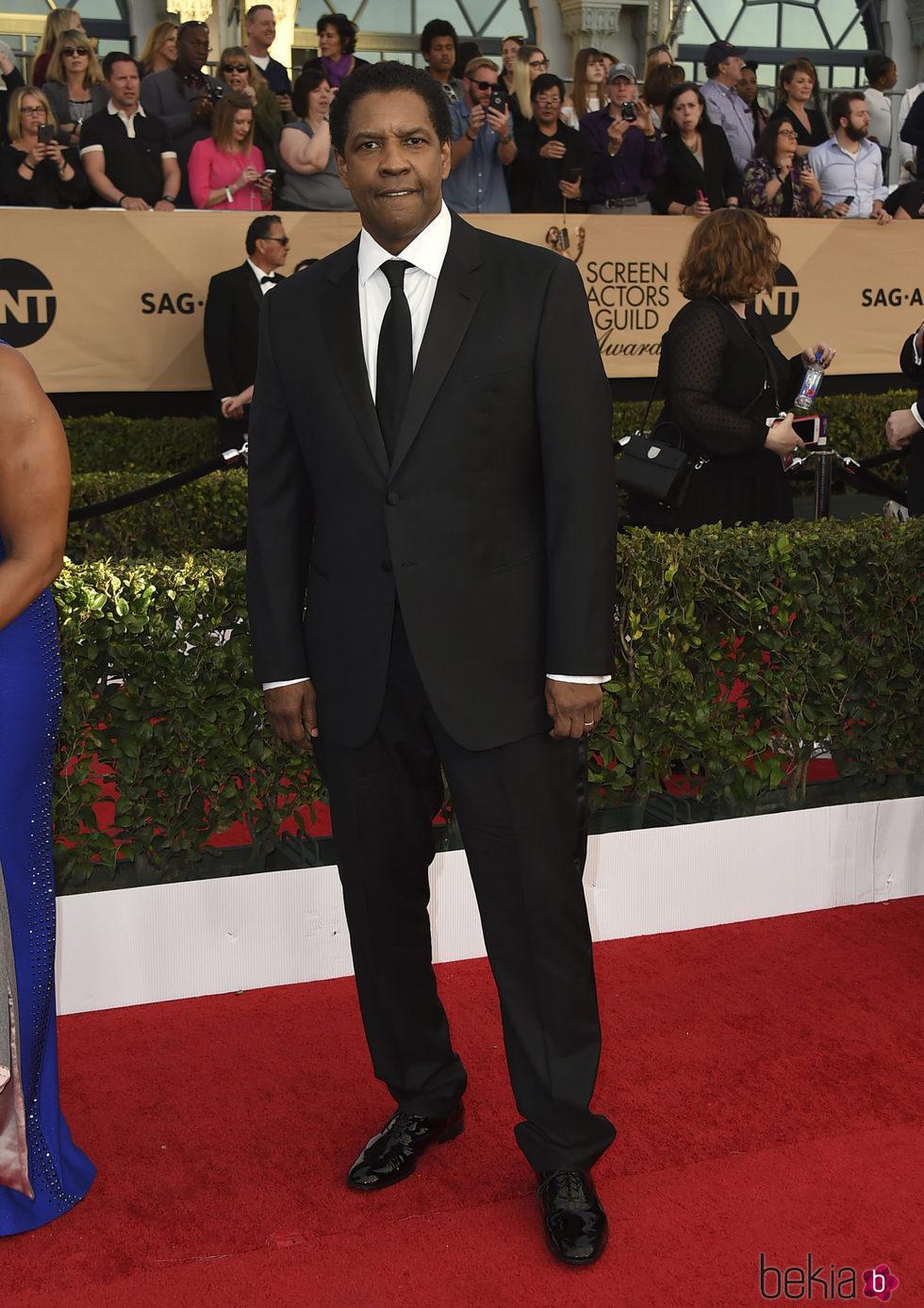 Denzel Washington en los SAG Awards 2017