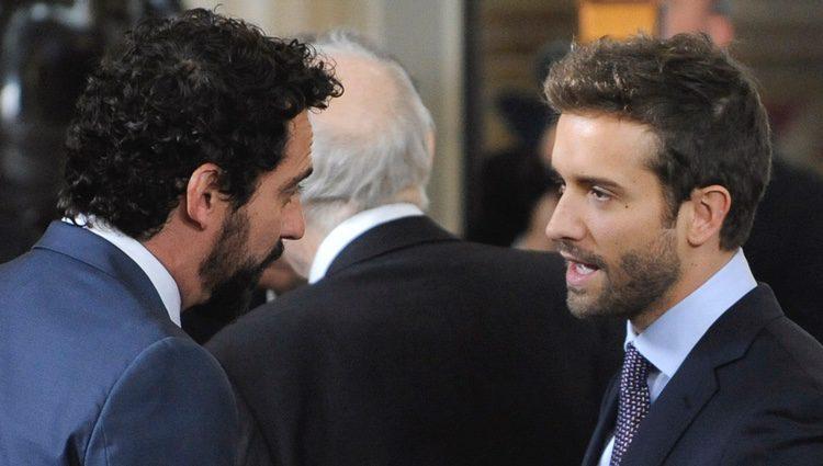 Paco León y Pablo Alborán en la clausura de la conmemoración del IV centenario de la muerte de Cervantes