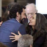 Paco León y Ángela Molina en la clausura de la conmemoración del IV centenario de la muerte de Cervantes