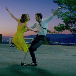 Emma Stone y Ryan Gosling actuando en 'La La Land'