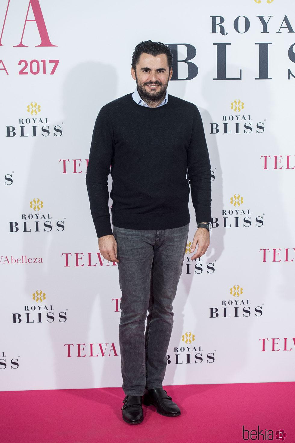Emiliano Suárez en los Premios Telva Belleza 2017