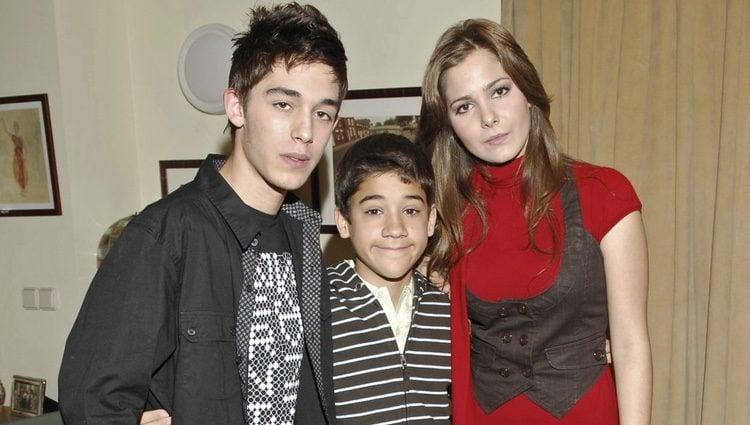 Víctor Elías, Jorge Jurado y Natalia Sánchez