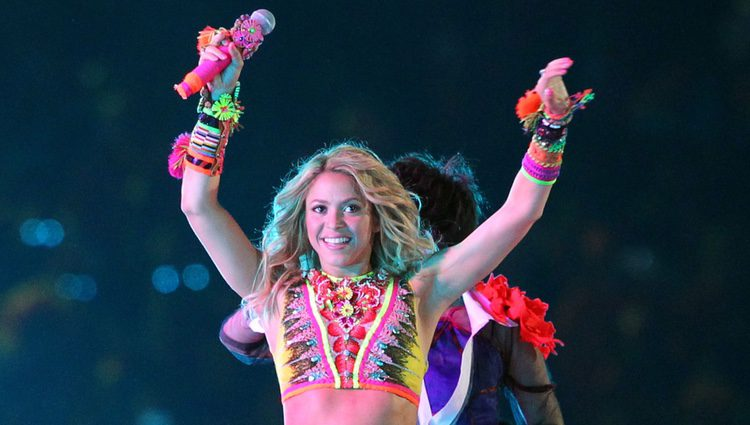 Shakira cantando 'Waka Waka' en la final del Mundial de Sudáfrica 2010