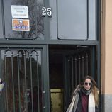 Anabel Pantoja saliendo de casa de su tía Isabel Pantoja en Madrid
